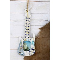 Gold Case Marin Ahşap Çerçeve Gitar Dq-M09 Mavi