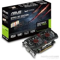 Asus Strix Nvidia GeForce GTX 750 Ti 2GB OC 128Bit GDDR5 (DX12) PCI-E 3.0 Ekran Kartı (STRIX-GTX750TI-OC-2GD5)