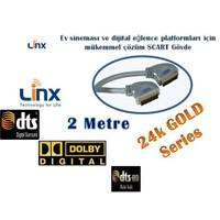 Linx Ne-5202 Scart Kablo (2 metre)