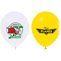 Pandoli 10 Lu Planes Baskılı Latex Renkli Balon