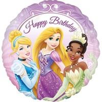 Pandoli 45 Cm Folyo Balon Princess Happy Birthday