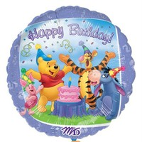 Pandoli 45 Cm Folyo Balon Pooh Ve Arkadaşları Birthday