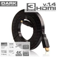 Dark Slim 3 metre HDMI v1.4 Kablo (DK-HD-CV14L3S)