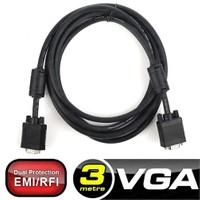 Dark 3m, Ferrit Core EMI/RFI Filtreli, 8mm Çaplı, VGA Monitör Kablosu (Asılabilir) (DK-CB-VGAL300)