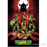 Ninja Turtles Charaters Mini Poster