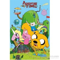 Adventure Time House Maxi Poster