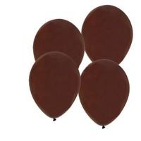Pandoli Kahverengi Metalik Düz Renk 25 Adet Sedefli Latex Balon