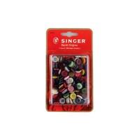 Singer 100-52 Renkli Düğme Seti ( 11 mm x 200 adet)/Kutulu