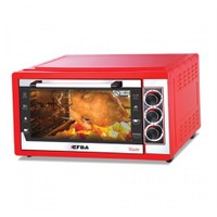 Efba 5004 Master Tavuk Çevirmeli 40 lt Elektrikli Fırın Kırmızı