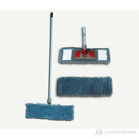 Microfiber Mop Set Püsküllü (Ebat: 50x12,5 Cm)