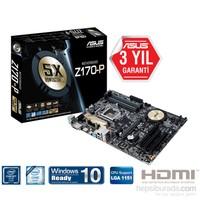 Asus Z170-P Intel Z170 3466MHz(OC) DDR4 Soket 1151 ATX Anakart