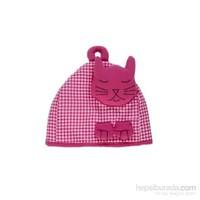 Yastıkminder Fuşya Kedili Çaydanlık Kılıfı