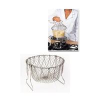 Bundera Chef N Basket Metal Haşlama