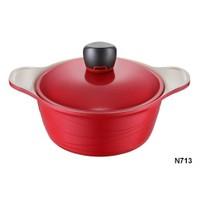Neva N713 Sweet Ceramica Krem 20 Cm Derin Tencere