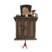Yargıç Figürlü Saat