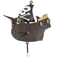 Korsan Gemi Figürlü Saat