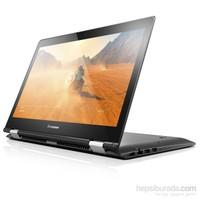 """Lenovo Yoga 500 Intel Core i5 6200U 2.3GHz / 2.8GHz 4GB 500GB + 8GB SSHD 14"""" Taşınabilir Bilgisayar 80R500CWTX"""