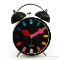 Time Gold Çalar Masa Saati Siyah