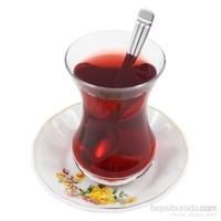 Gerok Bahar 6 Adet Porselen Çay Tabağı