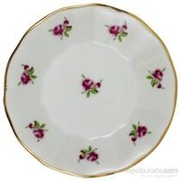 Gerok Kır Çiçeği 6 Adet Porselen Çay Tabağı