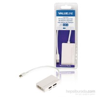 Valueline Mini Displayport Adaptör 0,20M