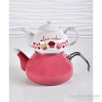 Keramika Fruıt Cake Çaydanlık