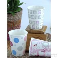 Mukko Home Porselen 3'Lü Kupa Set