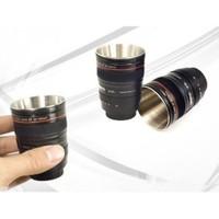 Hepsi Dahice Lens Görünümlü 2 Adet Shot Bardağı