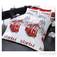 İyi Geceler İstanbul Exclusive Ranforce Çift Kişilik Nevresim Takımı Beyoğlu