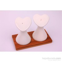 Dekotrends Porselen Kalp Tuzluk