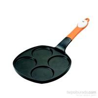 Joie Silver Dollar Yapışmaz Kaplamalı 4 Bölmeli Pancake Tavası