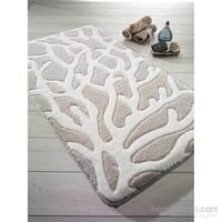 Confetti Moss Banyo Paspası Bej 100x160 cm
