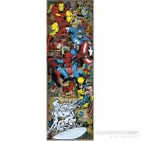 Marvel Characters Door Poster
