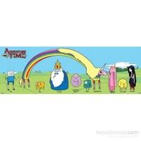 Adventure Time Charters Door Poster