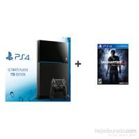 Sony Playstation 4 1 Tb Ultimate Player Edition Oyun Konsolu + Uncharted 4 ( Türkçe Dublaj )