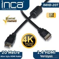 Inca IMHD-20T 20M 4K 1,4 V 3 D Altın Uçlu HDMI Kablo
