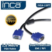 Inca IVGA-15PT VGA TO VGA 1,5M BAKIR KABLO