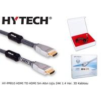 Hytech Hy-Pp810 Hdmı To Hdmı 5M Altın Uçlu 24K 1.4 Ver. 3D Kablosu