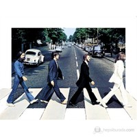 The Beatles Abbey Road 3D Poster