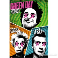 Green Day Trio Maxi Poster