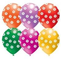 Parti Şöleni Papatya Baskılı Balon 20 Adet