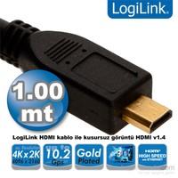 Logilink CH0030 HDMI - Micro HDMI v1.4 1m Kablo