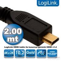Logilink CH0032 HDMI - Micro HDMI v1.4 2m Kablo