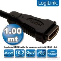 Logilink CH0059 HDMI v1.4 1m Uzatma Kablosu