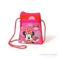 Yaygan Minnie Mouse Lisanslı İpli El Ve Omuz Çantası