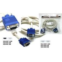 S-Link Sl-Vga03f S-Lınk 3 Metre Monitör Pc Arası Vga Data Uzatma Kablo M/F