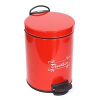 T-Design Çöp Kovası 3 Lt Kırmızı