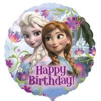 Parti Paketi Frozen Happy Birthday Folyo Balon