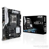 Asus X99-A II Intel X99 3333MHz(O.C) DDR4 Soket 2011-V3 ATX Anakart