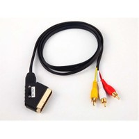 iPoint Scart - Kompozit Ses ve Görüntü Kablosu Çift Yönlü 1.5m 55242